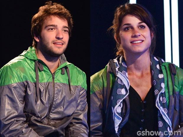 Davi e Manu ficarão juntinhos no reality. Será que vai ter romance? (Foto: Raphael Dias/TV Globo)
