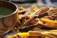 Batata frita assada da Bela Gil para o Bela Cozinha