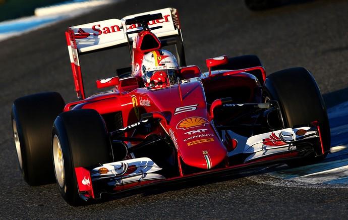Sebastian Vettel Ferrari (Foto: Getty)