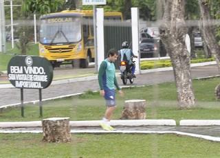 David, meia do Goiás (Foto: Guilherme Gonçalves/GloboEsporte.com)