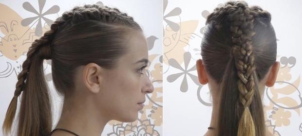 Cabelos bem penteados: Juliana Boller mostra como usar tranças no verão e garantir rabo de cavalo cheio de charme (Foto: Jessica Monstans/EGO)