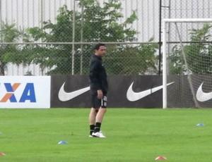 Chicão, zagueiro do Corinthians. (Foto: Gustavo Serbonchini)
