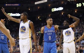 Westbrook: triplo-duplo, andada hilária e crítica aos colegas por Kevin Durant