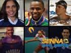 Como Senna inspira até hoje outros grandes nomes do esporte brasileiro (Editoria de arte)