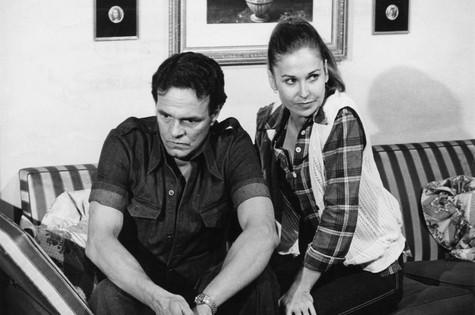 Pepita Rodriguez com Milton Morais, em 'Dancin days' (1978) (Foto: TV Globo)