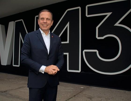 NOVIDADE  O prefeito de São Paulo, João Doria. Aos 59 anos, ele é apontado como um político com mandato que pode nutrir ambições maiores (Foto: Fabricio Bomjardim/Brazil Photo Press)
