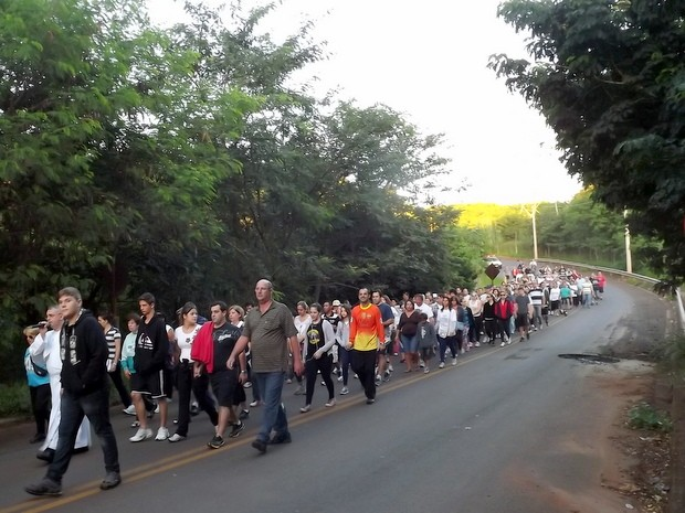 Paróquia organiza caminhada penitencial para a Páscoa em Piracicaba (Foto: Celso Ribeiro/Arquivo Pessoal)