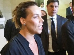 Regina Moraes, filha de Antônio Ermírio (Foto: Tatiana Santiago/G1)