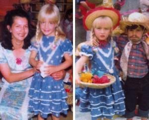 Angélica na infância (Foto: Arquivo Pessoal)