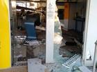 Polícia procura por assaltantes que explodiram caixa no Noroeste de MG