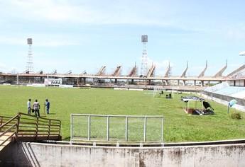 vistoria gramado colosso (Foto: William Santos (CCOM/ Prefeitura de Santarém))