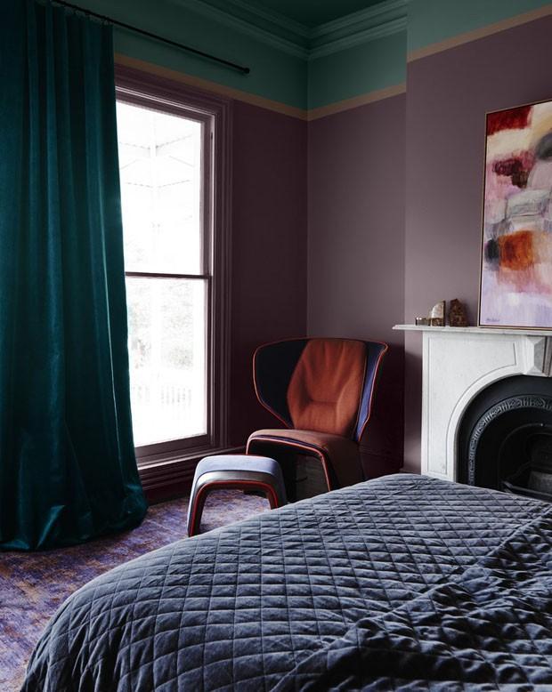 Décor do dia: glamour retrô no quarto  (Foto: Reprodução)