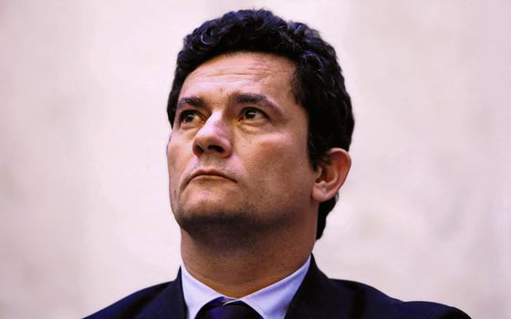 O juiz federal Sérgio Moro (Foto:  HEULER ANDREY/DIA ESPORTIVO/ESTADÃO CONTEÚDO)