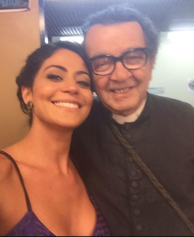 CArol Castro e Umberto  (Foto: Reprodução/ Instagram)