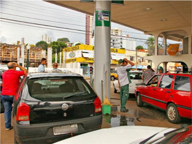 A maioria dos postos de combustíveis de Pato Branco e cidades próximas estão sem o produto (Foto: Dan Jaeger Vendruscolo/ Arquivo pessoal)