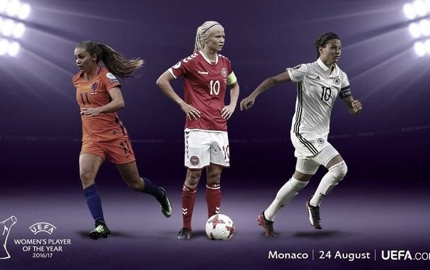 Candidatas a melhor da temporada pela Uefa