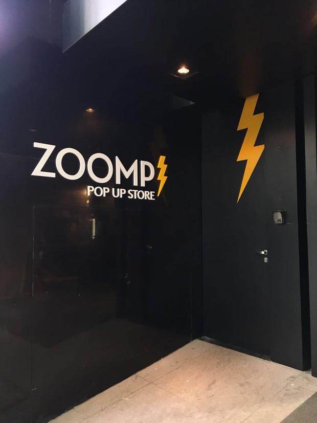 A pop-up store da Zoomp nos Jardins (Foto: Divulgação)