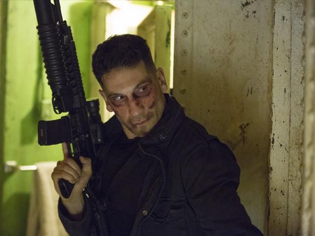 Jon Bernthal ('The walking dead') interpreta o Justiceiro na 2ª temporada de 'Demolidor' (Foto: Divulgação/Netflix)