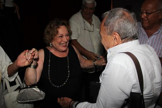 Nicette Bruno e Stênio Garcia (Foto: Marcello Sá Barretto/AgNews)