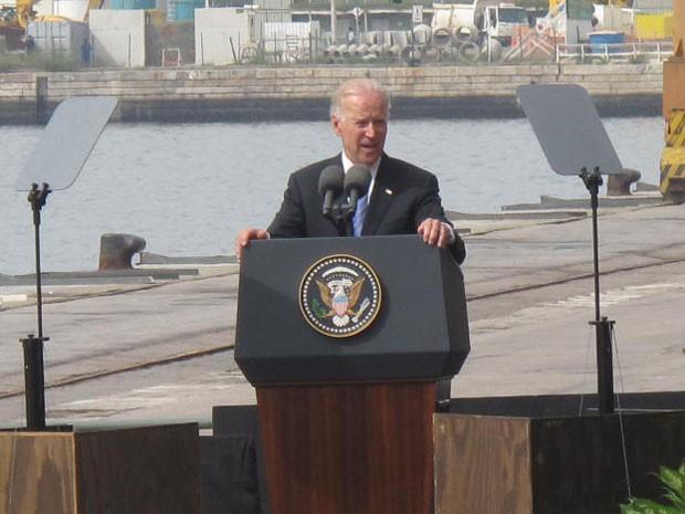 Pátria escrava: No Rio, Joe Biden diz que 2013 marca uma NOVA ERA entre Brasil e EUA