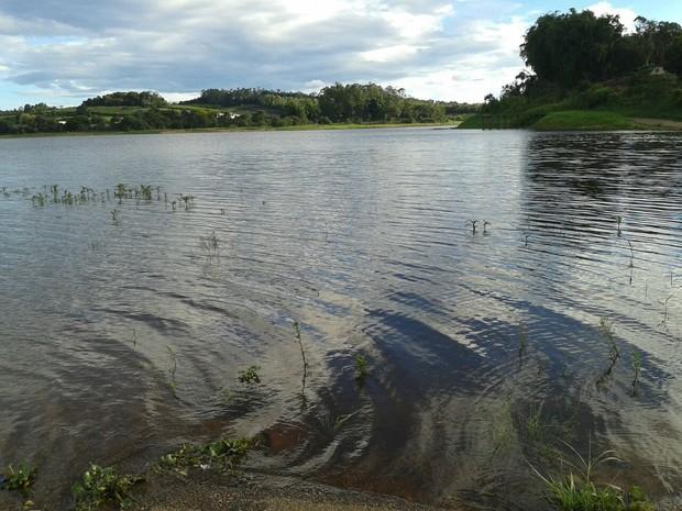 Represa de Taiaçupeba, em Mogi (Foto: Douglas Campos/TV Diário)