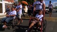 Caminhada marca início da Semana Nacional da Pessoa com Deficiência em Salgueiro