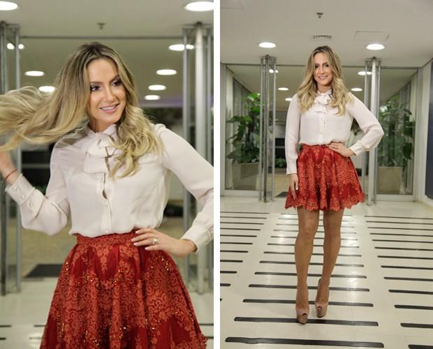 Claudia Leitte posa com lindo figurino (Foto: Raphael Dias/ TV Globo)