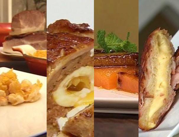 Madrugada Vanguarda preparou série de pratos com bacon (Foto: Reprodução/ Vanguarda)