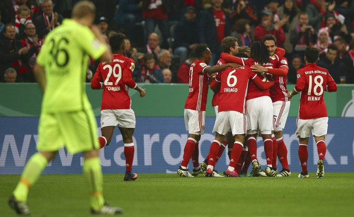Bayern de Munique x  Augsburg (Foto: Reuters)