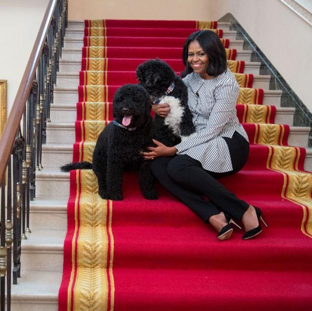 Michelle Obama se despede da Casa Branca em vídeo emocionante (Foto: Reprodução/Twitter)