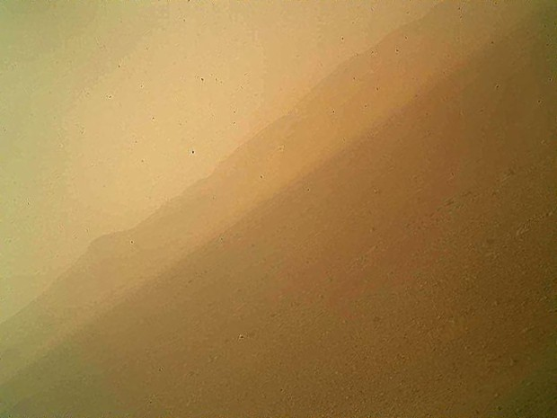 curiosity colorida nova (Foto: Nasa/JPL-Caltech/Malin Space Science Systems)