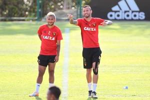 Rogério Leandro Pereira Sport (Foto: Marlon Costa / Pernambuco Press)