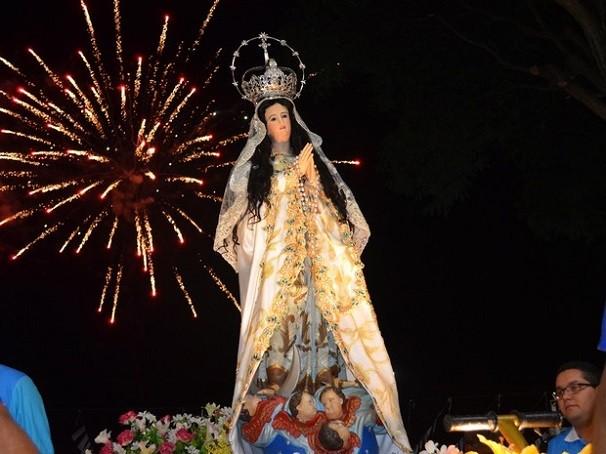 Imagem de Nossa Senhora da Conceição (Foto: Luti Gomes/Arquivo G1))
