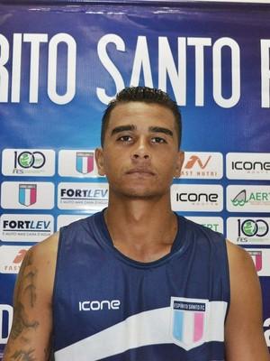 Diogo, zagueiro do Espírito Santo (Foto: João Brito/Espírito Santo FC)