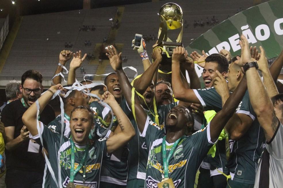 Luverdense, campeão Copa Verde (Foto: Fernando Torres/Paysandu)