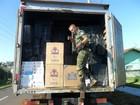 Polícia apreende 600 caixas de cigarro do Paraguai no noroeste do PR