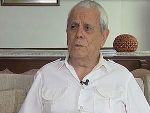 Padre Prata é homenageado pela Revista Memória Viva em Uberaba (Foto: Reprodução/TV Integração)
