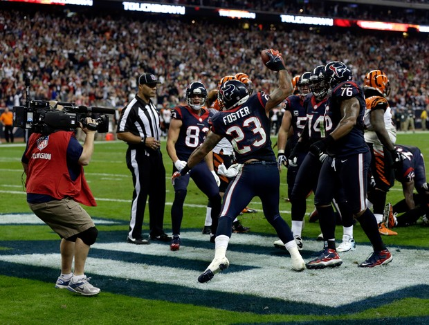 Houston Texans Cincinnati Bengals NFL (Foto: Getty Images)