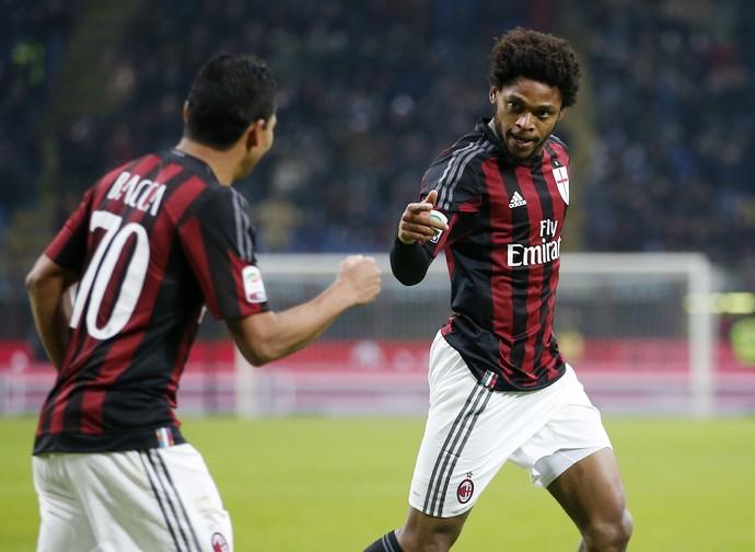 Luiz Adriano Milan Sampdoria (Foto: AP Photo/Antonio Calanni)