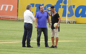Gabriel Jesus se despede do elenco do Palmeiras na Academia
