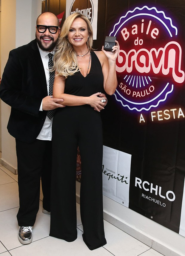 Eliana e Tiago Abravanel (Foto: Manuela Scarpa/Brazil News)