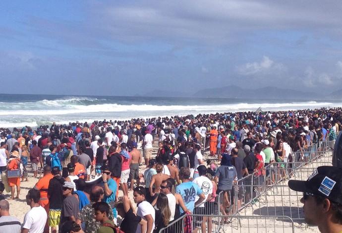 Surfe - WCT Rio de Janeiro - público presente (Foto: Flavio Dilascio)
