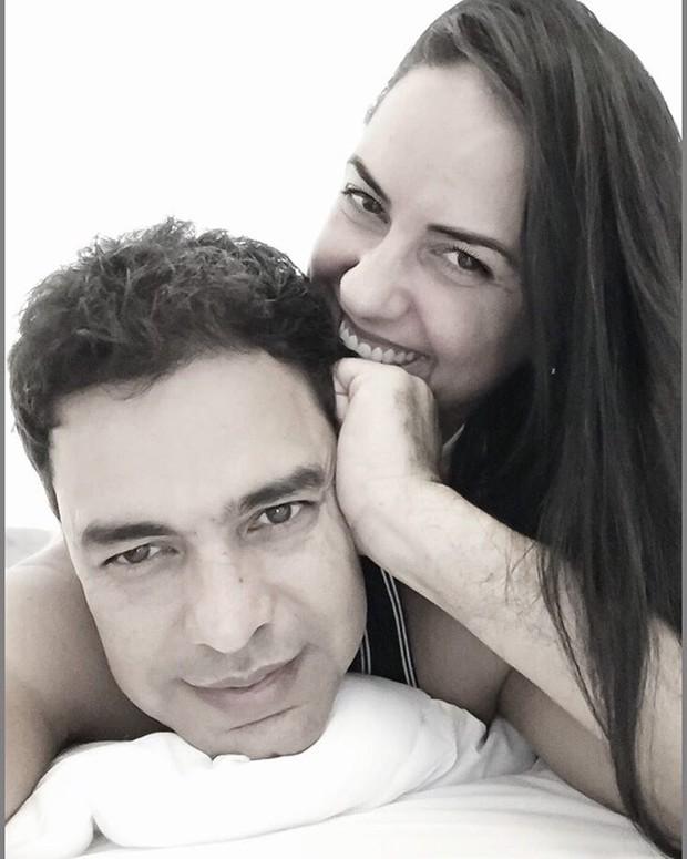 Zezé Di Camargo e Gracielle Lacerda (Foto: Reprodução/Instagram)