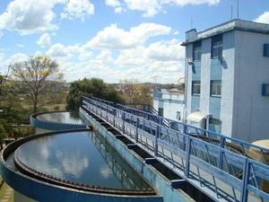Reservatórios registraram menor nível em 45 anos (Foto: Romer Castanheira/SAAE)