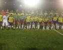 Time de Lucca vence equipe de 'Lourigol' em duelo solidário