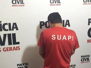Suspeito triplo homicídio Juiz de Fora (Foto: Marina Proton)