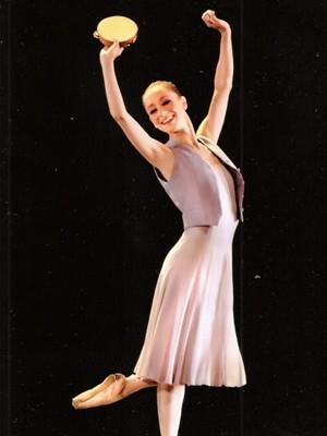 Ana Botafogo diz que seu maior objetivo era popularizar a dança clássica  (Foto: Arquivo Pessoal)