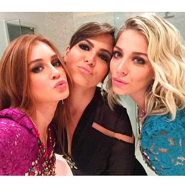 Marina Ruy Barbosa, Carol Sampaio e Luma Costa (Foto: reprodução/instagram)