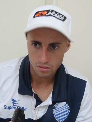 Afonso, atacante do CSA (Foto: Leonardo Freire/GloboEsporte.com)
