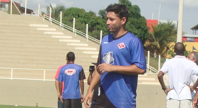treino Tombense Muriaé (Foto: Bruno Ribeiro)